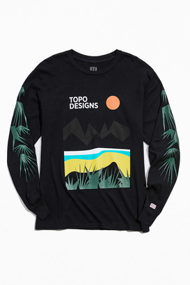 Topo Designs Desert Long Sleeve Tee