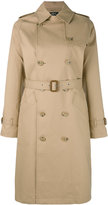 A.P.C. 'Julianne' trench coat - women - Cotton - 38