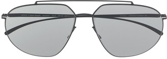 Mykita x Maison Margiela geometric sunglasses
