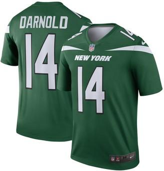 Nike Men's Sam Darnold Gotham Green New York Jets Legend Player Jersey