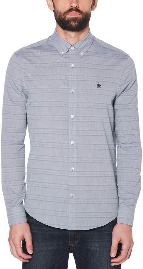 54427ff7ffb9 Original Penguin Chambray Men's Shirts - ShopStyle