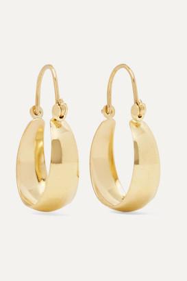 Loren Stewart - Mini Hammock 14-karat Gold Earrings - one size