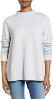 Halogen Tie Wrap Back Sweatshirt (Petite)