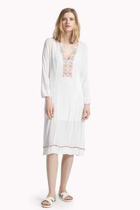 Great Plains Morocco Stitch Embellished Dress