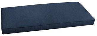 "Highland Dunes Outdoor Sunbrella Bench Cushion Size: 45"" W x 17"" D"