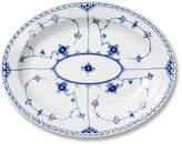 Royal Copenhagen Blue Half Lace Oval Platter - Large