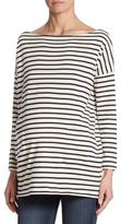 Hatch Everyday Striped Bateau Top