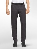 Calvin Klein Slim Fit Tonal Pleated Pants