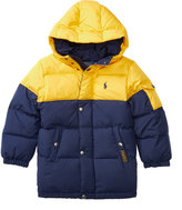 Ralph Lauren Two-toned Quilted Down Jacket