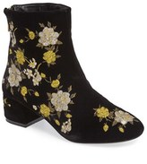 Topshop Women's Blossom Embroidered Boots