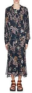Isabel Marant Women's Dalika Silk Georgette Dress - Blue