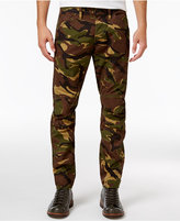 G Star Men's Slim-fit Elwood X25 Woodland Camouflage Pharrell Jeans