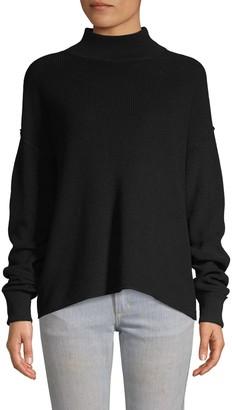 John & Jenn John + Jenn Mockneck Long-Sleeve Sweater