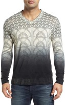Robert Graham Lazio V-Neck Wool Sweater