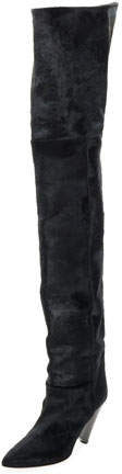 Isabel Marant Lostynn Over-The-Knee Fur Boot,
