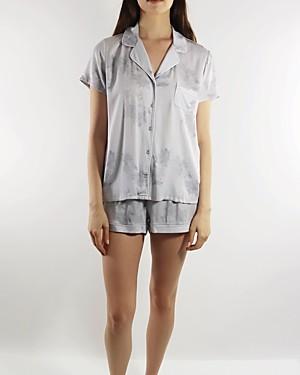Splendid Printed Shorts Pajama Set