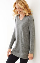 J. Jill V-Neck Knit Tunic