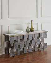 Global Views Layered Iron Console Table