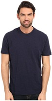 Lacoste Short Sleeve Vintage Washed Tee Men's Clothing