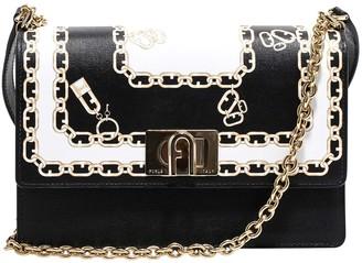 Furla Printed Chain Shoulder Bag