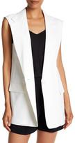 DKNY Notch Collar Vest