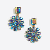 J.Crew Factory Crystal cluster dangle earrings