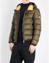 Moncler Contrast-panel quilted nylon jacket