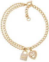 Michael Kors Love is in The Air Gold Tone Chain Bracelet