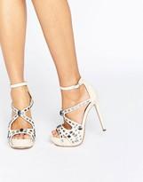 Little Mistress Embellished Platform Sandal