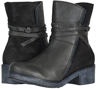Naot Footwear Poet (Tin Gray Leather/Oily Midnight Suede/Ink Leather) Women's Boots