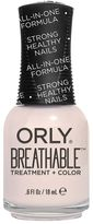 Orly Breathable Treatment & Color Nail Polish - Barely There