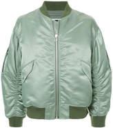 H Beauty&Youth zipped bomber jacket