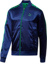 Puma Men's Reversible Satin T7 Bomber Jacket