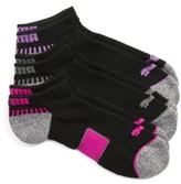 Puma Women's 3-Pack Low Cut Footie Socks