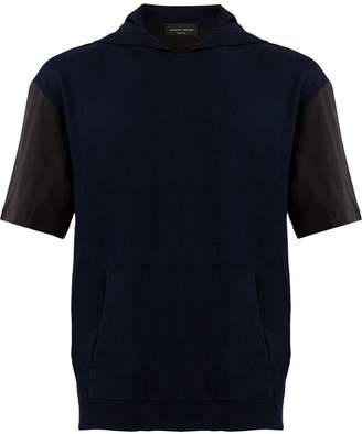 Roberto Collina hooded top