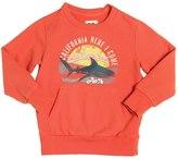 American Outfitters Sunset Shark Print Cotton Sweatshirt