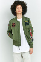 Alpha Industries MA-1 Sage Green Patched Bomber Jacket
