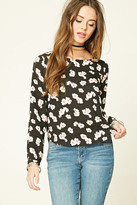 Forever 21 FOREVER 21+ Floral Print Woven Top