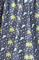 Nordstrom Miss Wu Packed Floral Print Dress Exclusive)