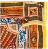 Faliero Sarti embroidered oversized scarf