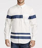 William Rast Baxtor Long-Sleeve Striped Shirt