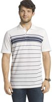 Arrow Big & Tall Classic-Fit Oxford Engineer-Striped Polo