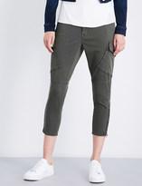 J Brand Fashion Margho skinny mid-rise utility trousers