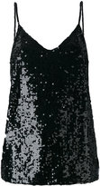 P.A.R.O.S.H. sequined tank top