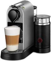 Nespresso by Breville CitiZ & Milk Silver Bundle