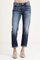 True Religion Audrey Slim Boyfriend Womens Jean