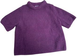 Cos Purple Wool Knitwear for Women