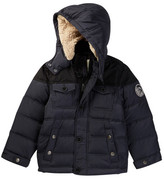 Diesel Faux Shearling Lined Down Bubble Jacket (Big Boys)