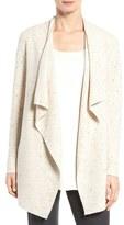 Eileen Fisher Women's Peppered Organic Cotton Blend Cardigan