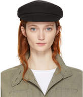 Isabel Marant Black Canvas Evie Cap